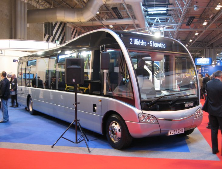 Optare Solo SR on 10 October 2007