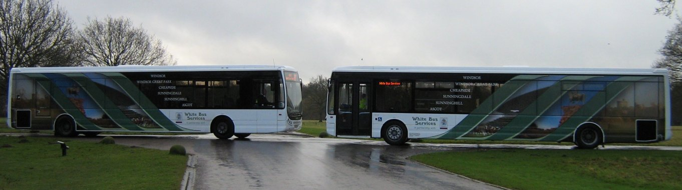 YJ07 EGD & YJ57 EHV on 26 January 2009